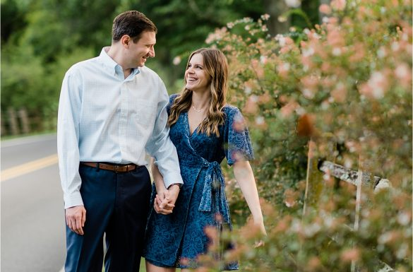 Sugarloaf Mountain Engagement Session | Allison & Garrett