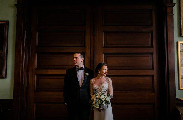 Maryland Club Winter Wedding | Elyse & Ian