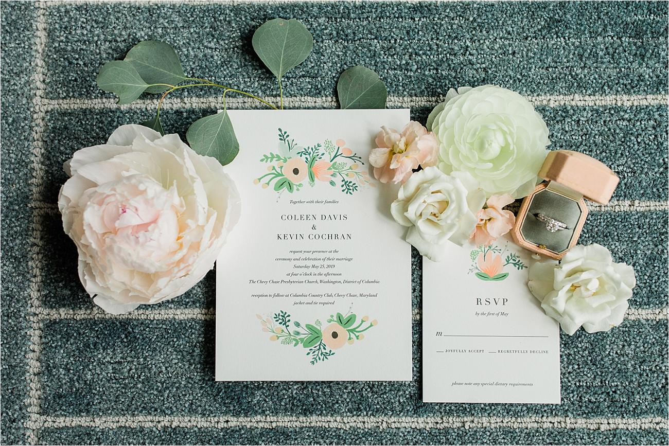 rifle paper co. wedding invitation suite