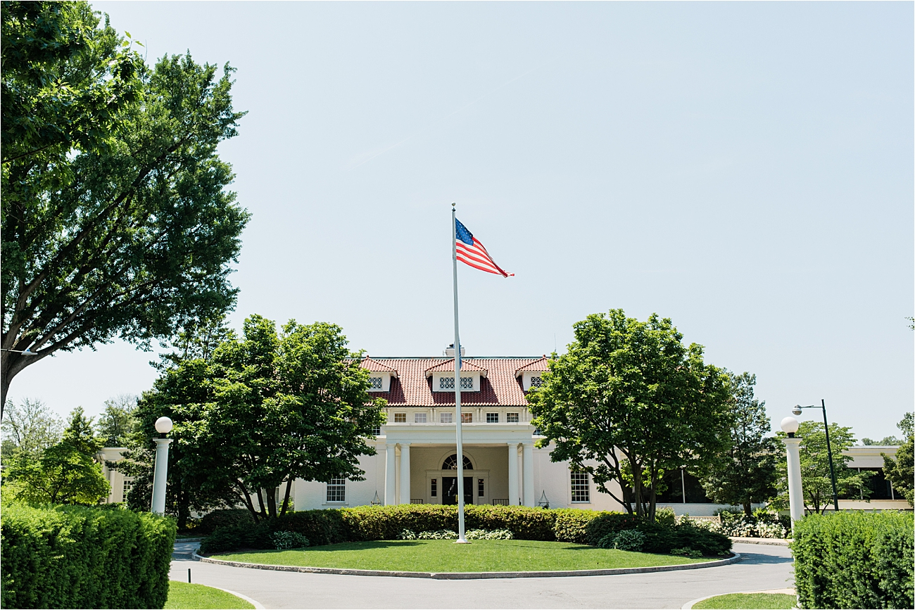 Wedding at Columbia Country Club in Chevy Chase Maryland