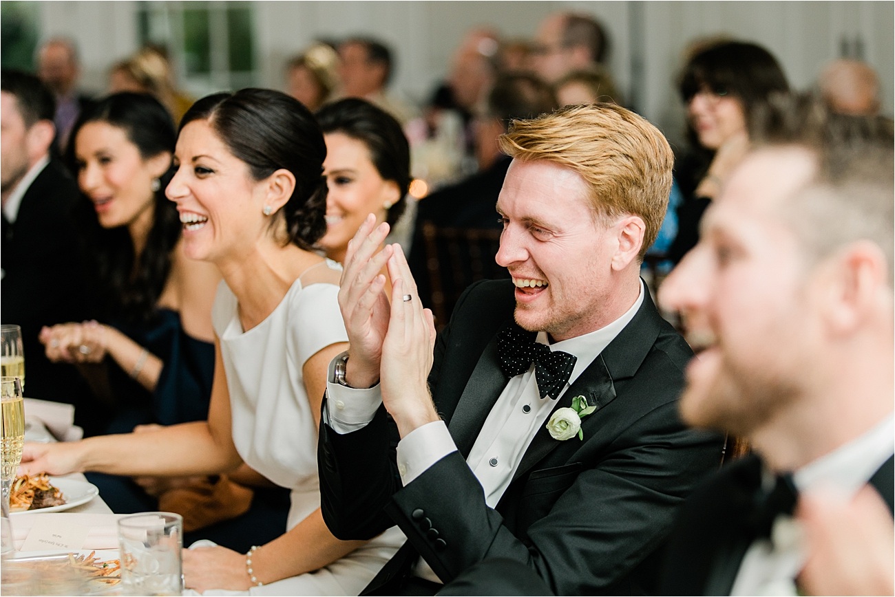 Columbia country club wedding reception